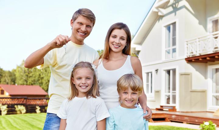 Hausfinanzierung Familie